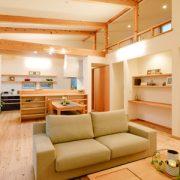 こだわりの自然素材で造る、体にも心にも優しい住空間