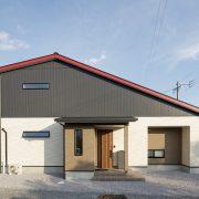 気密性と耐震性に優れ 大屋根が魅力的な住まい