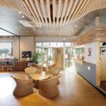 デザイン性と機能性を高め 非日常を味わえる空間に